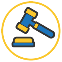 Icon for Lawsuits Menu